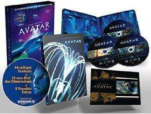 Avatar Extended Collector's Edition (exklusiv bei Amazon.de inkl. Avatar Artbook) [Blu-ray] @ Amazon.de