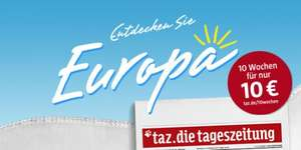 TAZ Tageszeitung - 10 Wochen für 10€ (Probeabo)