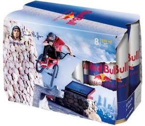 Red Bull 8×0,25l für 7,77 Euro bei Rewe
