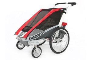Chariot Cougar 1 Fahrradkinderanhänger gefedert aus den USA