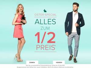 50% auf alles bei Dress for Less