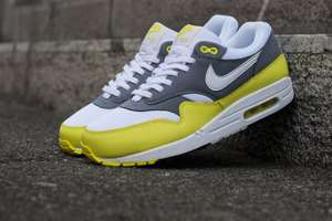 Nike Air Max 1 Essential Cool Grey/Yellow @outfitter.de