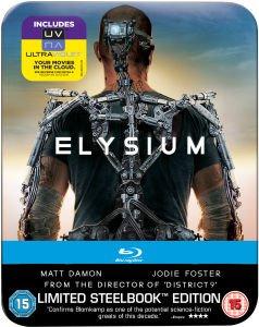 Elysium - Limited Edition Steelbook 4K Edition (Inkl. UV Code) Blu-ray für 12,12€ @Zavvi