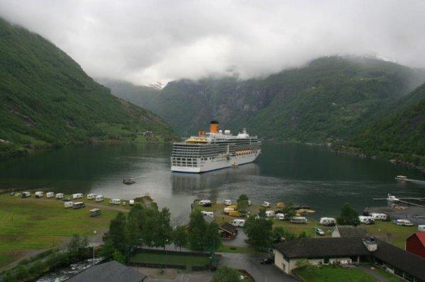 Gute Preise für Costa Kreuzfahrten bei Cruise Nation: z. B. 7 Tage Fjorde  All-Incl  639€pp