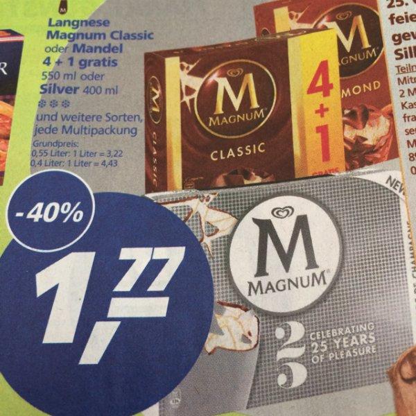 Magnum Eis 4+1 für 1,77€ Real Bundesweit