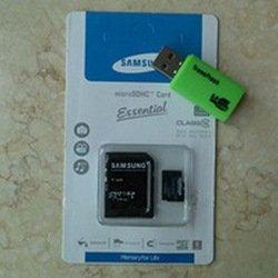 Samsung 64GB Micro SD SDHC Memory Card Class 10