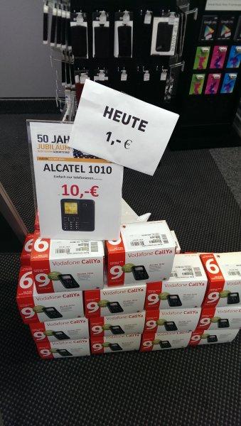 [LOKAL Berlet Bergkamen] Alcatel 1010X Callya-Bundle für nur 1€ mit 1€ Startguthaben