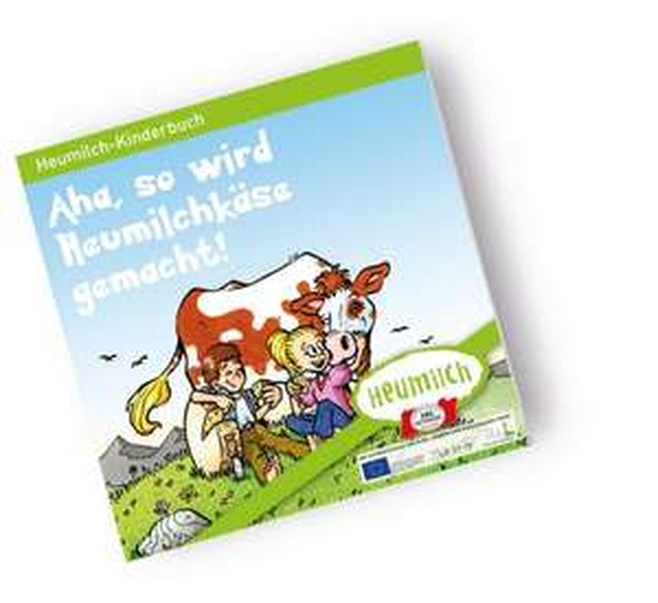 """[Heumilch] Neues kostenloses Kinderbuch """"Aha, so wird Heumilchkäse gemacht!"""" + 3 weitere Fibeln"""
