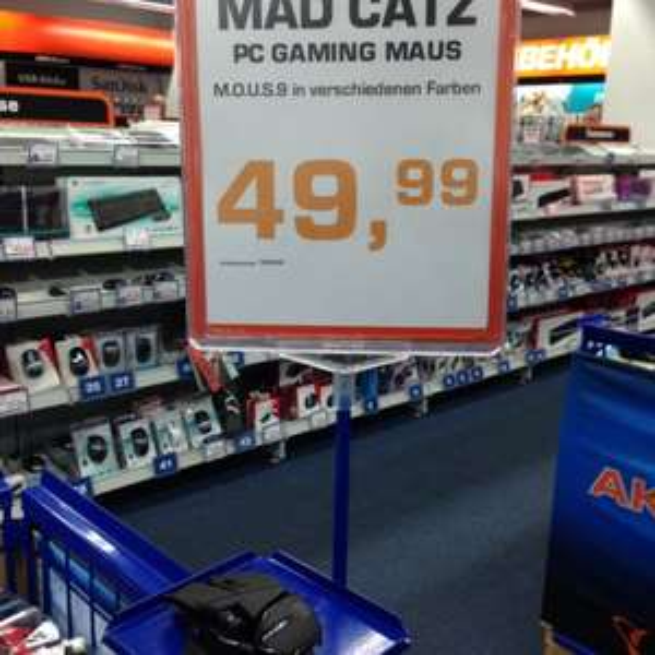 [lokal, Dresden, Saturn] Mad Catz M.O.U.S. 9