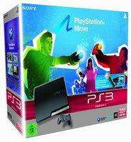 Sony Playstation 3 Slim Konsole 320 GB + Move Starterpack