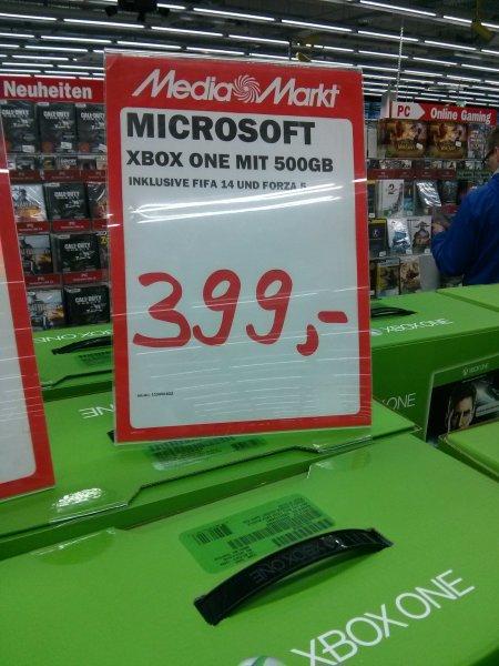 [Lokal] Mediamarkt Leipzig Paunsdorf: Xbox One mit Fifa 14 und Forza 5 für 399€