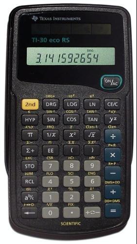 Texas Instruments TI 30 ECO RS wiss. Taschenrechner