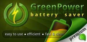 ANDROID -  Amazon App des Tages - GreenPower Premium Battery Saver (Wert 3,90€)