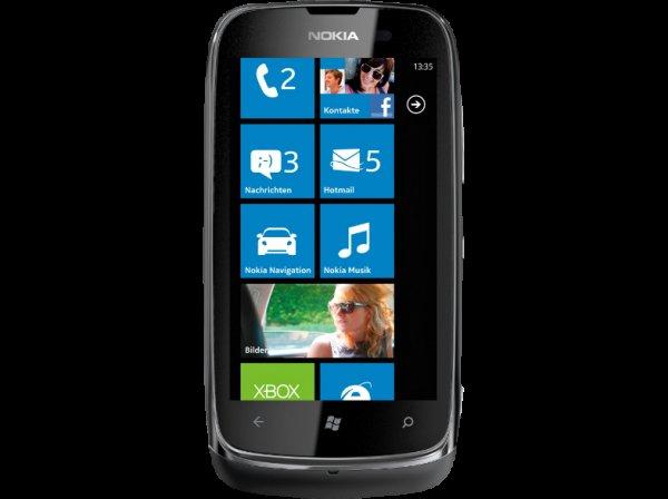 Nokia Lumia 610 in unterschiedlichen Farben für 79€ bei Saturn ( Gültig 20-21.04.14)
