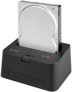 HDD-Dockingstation SATA + IDE - Sharkoon Quickport Combo, USB 3.0