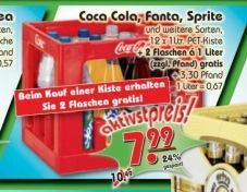 Aktiv Discount - Kiste Cola 7,99 + 2 Flaschen Gratis [OFFLINE / REGIONAL RAUM BREMEN]