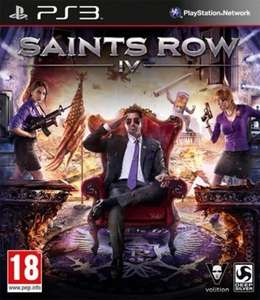 Saints Row IV (PS3) für 12,14€