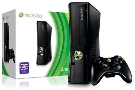 XBox 360 S 4 GB kinect-ready inkl. Wireless Controller für 129,99 € Vergleichspreis 199,99