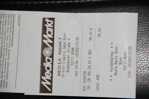 DeLonghi Nespresso EN 166.cw (weiss) für 99,00 €.   (Media Markt in Bonn lokal?)