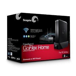 Seagate FreeAgent GoFlex Home 2TB NAS-Server für 109,61€