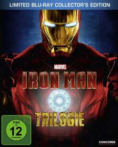 Iron Man Trilogie - Steelbook inclusive exclusivem Comic (Limited Edition) bei Amazon