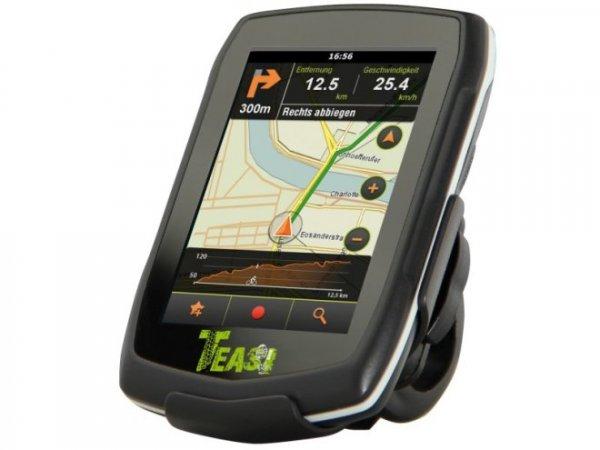 [TCHIBO mit 20 Treuebohnen] TEASI one Fahrrad- und -Wander-Navigationsgerät für 99,00