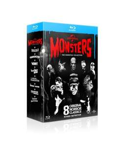 angelaufen -- Monsters Collection [Blu-ray] @amazon.de