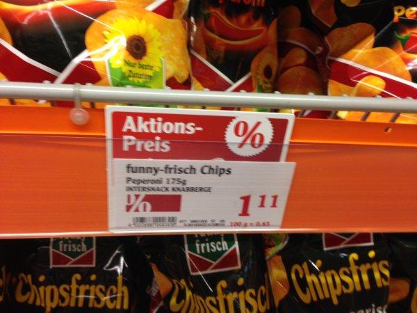 (Lokal Mühldorf a. Inn/ Globus) Funny-Frisch Chips nur 1,11