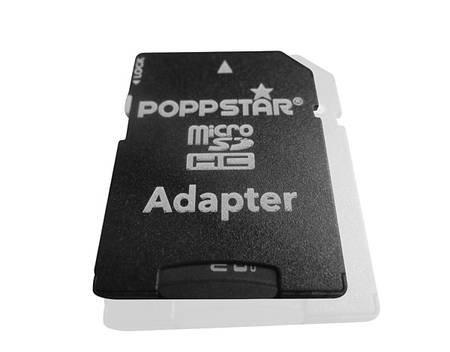 32 GB Poppstar Micro SDHC inkl. SDAdapter Class10 für 12,83€ @MeinPaket