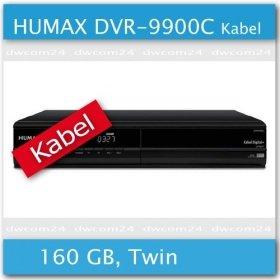Knaller: HUMAX DVR-9900C FESTPLATTEN KABEL RECEIVER 160GB für nur 29,- EUR inkl. Versand