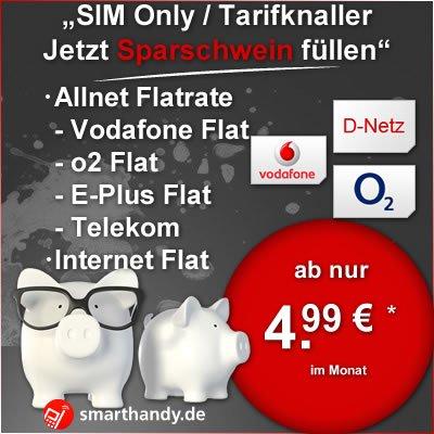 [Smarthandy.de über eBay] o2 M Allnet Flat, SMS Flat, 1GB Flat für rechn. 5,93€/M für Geschäftskunden