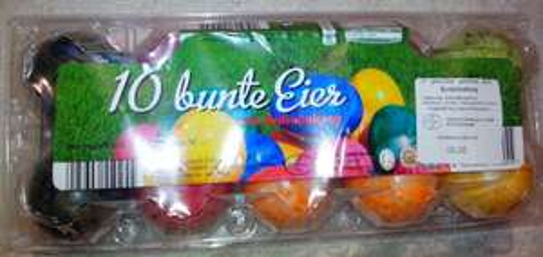 Kaufland HN: 10 bunte Eier für 0,75€