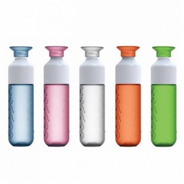 [lokal Berlin/Brandenburg] 33% Rabatt // Schadstoffreie Dopper Trinkflasche + gratis Bio-Sirup für 9.99€ bei Bio-Company