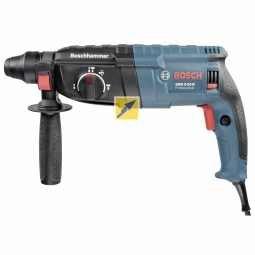 Bosch GBH 2-24 D Professional Bohrhammer SDS-Plus Schnellspannbohrfutterinkl. Tiefenanschlag Im Koffer