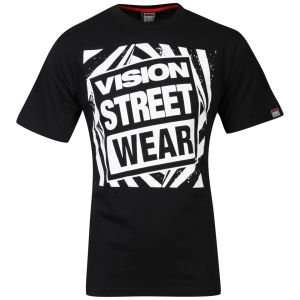Vision Men's Gator Logo T-Shirt Schwarz für 3,64€ @Zavvi