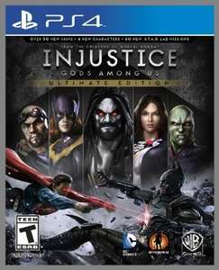 [PS4] Injustice: Gods Among Us - Ultimate Edition // Amazon.com - US PSN