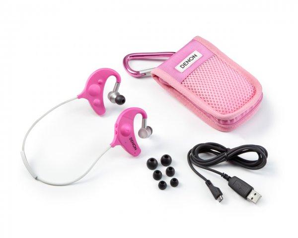 Denon AH-W150 Pink für 40€ - kabellose Sport In-Ears