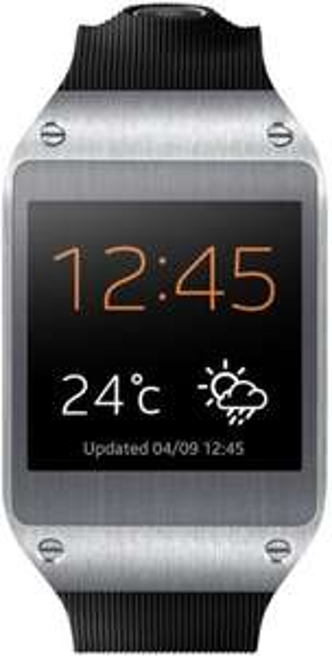 Samsung Galaxy Gear Uhr in schwarz für nur 153 Euro Amazon Marketplace