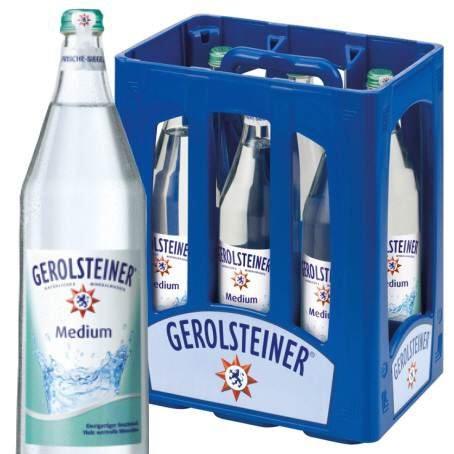 Rewe (Nähe FRA) - Gerolsteiner Mineralwasser 12 X 1l - WMF Spargelzange kostenlos dazu