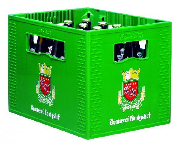 Krefeld: 1 Kasten Königshofer Weizen alkoholfrei für umsonst