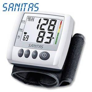 Mediamarkt (online): SANITAS SBC 25 Handgelenk-Blutdruckmessgerät inklusive Versand für nur 5,00 Euro