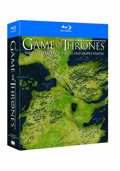 Games of Thrones Staffel 1-3 Blue Ray @Amazon