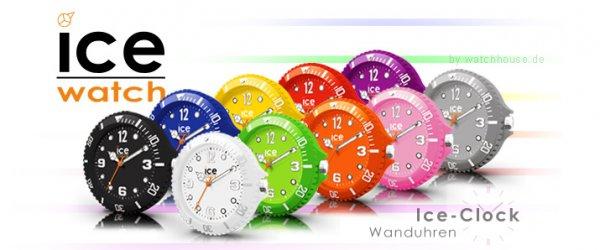 ICE CLOCK Wanduhr alle Farben für 34,90€ @b4f