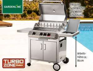 Enders Gasgrill Boston Test : Aldi sÜd] enders gasgrill monroe 3k m. turbozone 3flammig inkl