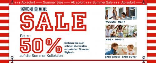 Tom Tailor Summer Sale 50% + Versandkostenfrei + 20% Gutschein on Top