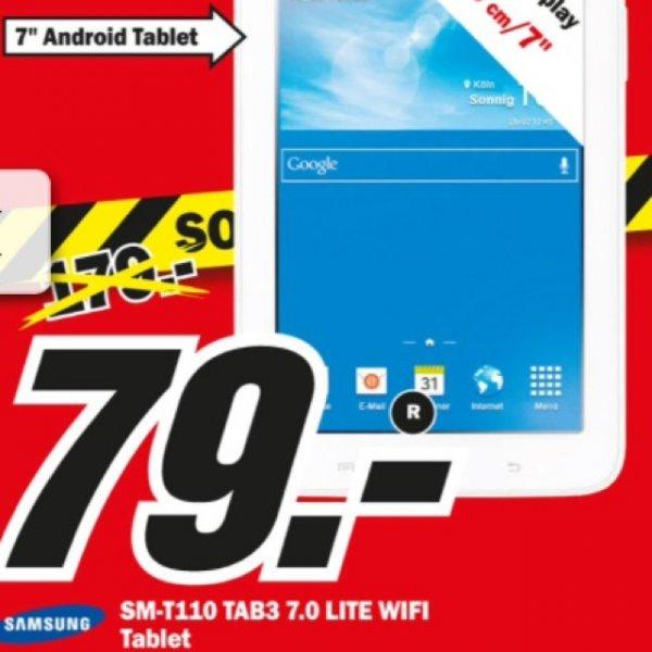 [Lokal] MediaMarkt Kassel Samsung Galaxy Tab 3 7.0 weiß für 79 Euro