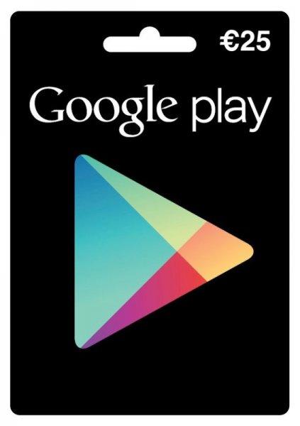 Google Play Store Guthaben Gutscheinkarte 50 Euro für 42,80 inkl. VSK