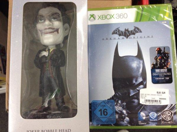 [LOKAL MM Koblenz]  Batman Arkham Origins inkl. Joker Bobble Head (X360/PS3)