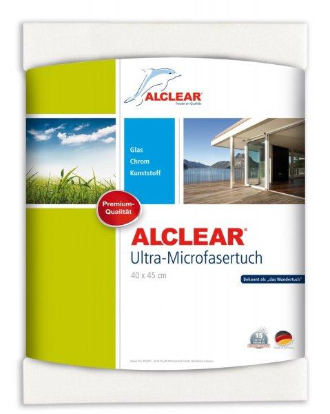 """ALCLEAR Microfaser """"Wundertuch"""" für 6,45 (40x45cm Tuch) oder 9,95 (60x45cm Tuch), ab einem MBW von 15,90 kostenloser Versand, ansonsten 1,95€"""