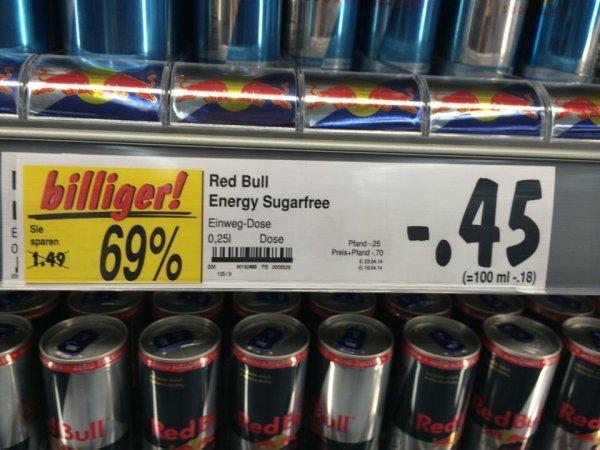 [Lokal Kaufland Ludwigsburg] Red Bull 250ml Dose